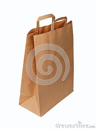 Ecological paper bag