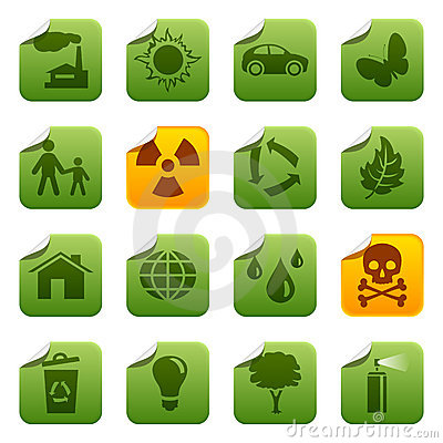 Ecological stickers