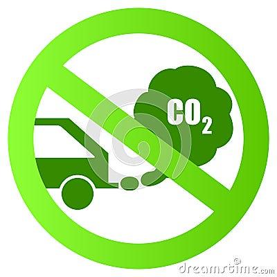 Ecological transport sign