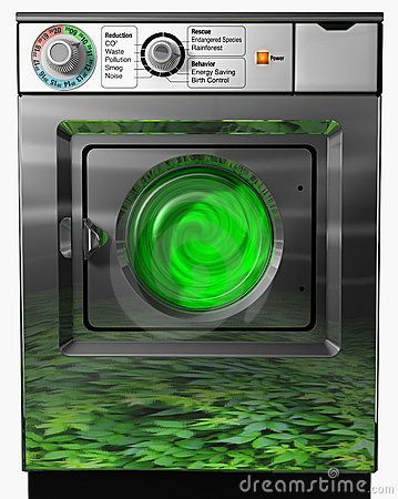 Ecological washer