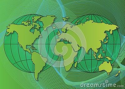 Ecological  world  map