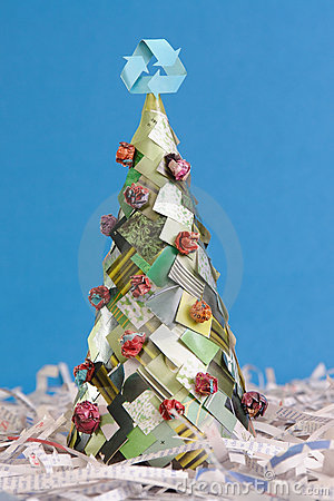 Ecological xmas tree