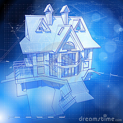 Ecology architecture design: house, plans