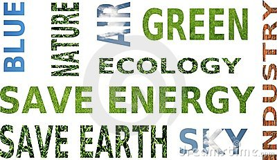 Ecology awareness - mouthful words