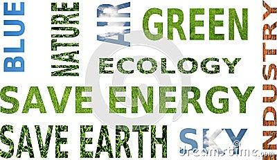 Ecology awareness - mouthful words