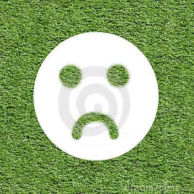 Ecology concept - think negative