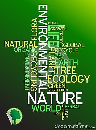 Ecology Environmental Poster Stock Photos Image 7784933