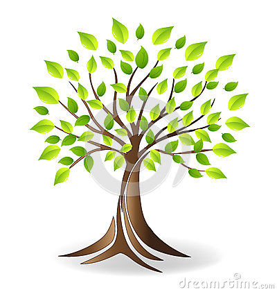 Free Ecology Family Tree Logo Royalty Free Stock Images - 91037689