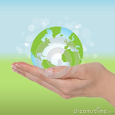 Free Ecology Globe Stock Image - 25327741