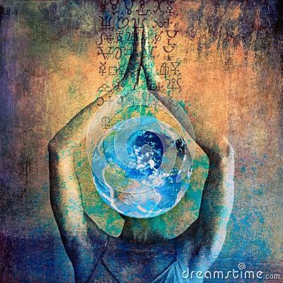 Free Ecology Goddess Stock Image - 12858581