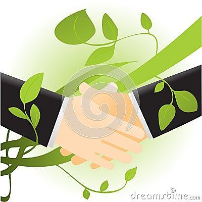 Ecology handshake