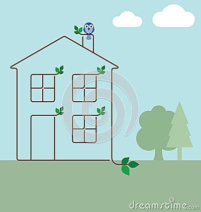 Ecology house