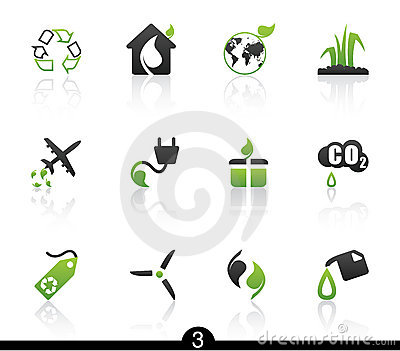 Ecology icon series