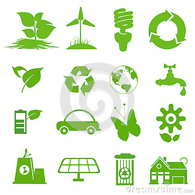 Ecology icon set 1