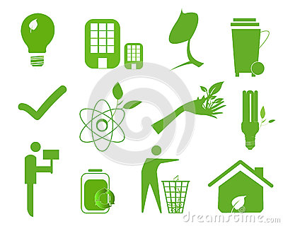 Ecology icon set 4