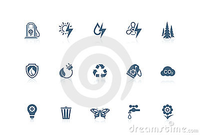 Ecology icons | piccolo series
