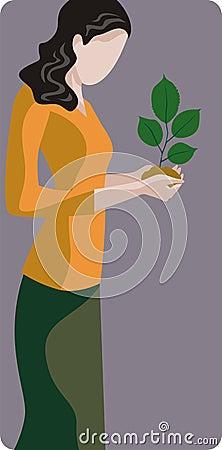 Ecology illustration series