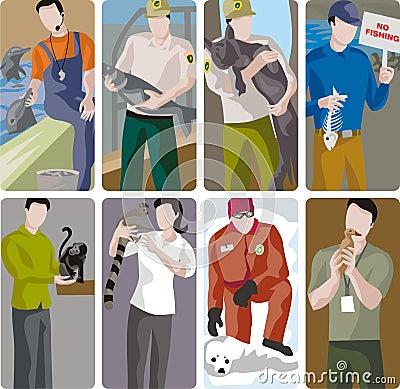 Ecology Illustration Set