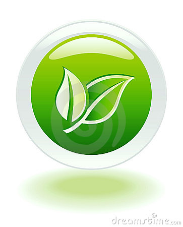 Free Ecology Internet Web Button Royalty Free Stock Photography - 5956607