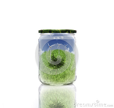 Ecology in jar