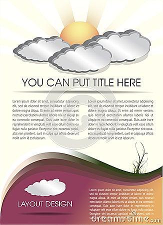 Ecology layout design