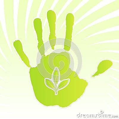 Ecology leaf design