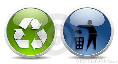 Ecology and recycling signs