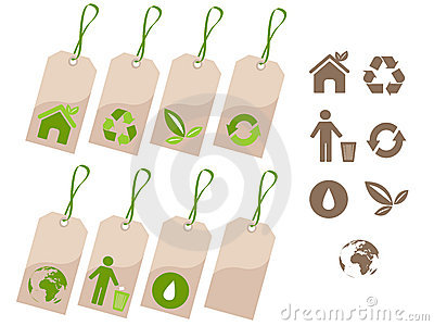 Ecology tags set