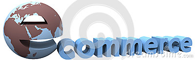 Ecommerce earth global internet world word