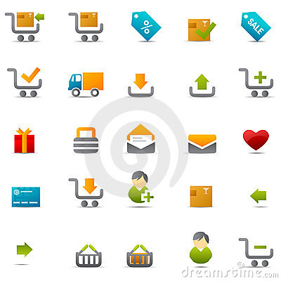 Free Ecommerce Web Icon Stock Image - 9055041