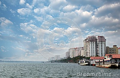 Economic capital of kerala - Kochi s skyline