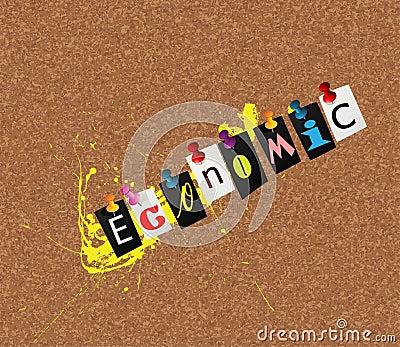 Economic notice concept