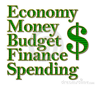 Economy Money Budget Finance Spending