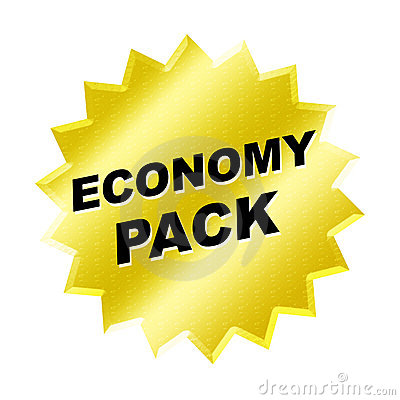 Economy Pack Sign