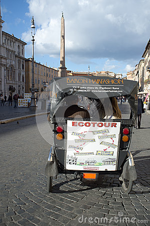 Ecotour in Rome Editorial Image