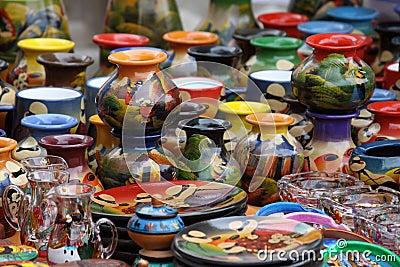 Ecuadorian pottery