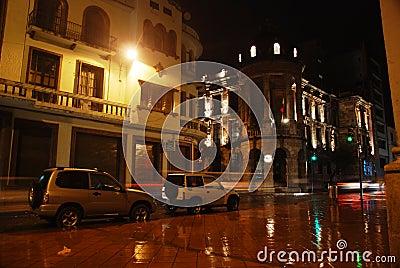 Ecuadorian street