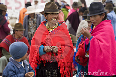 Ecuadorian women - Ecuador Editorial Image