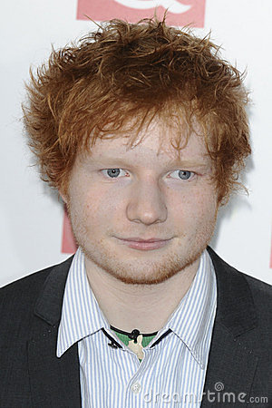Ed Sheeran Editorial Stock Image