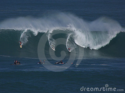 Eddie Aikau Surfers Editorial Image