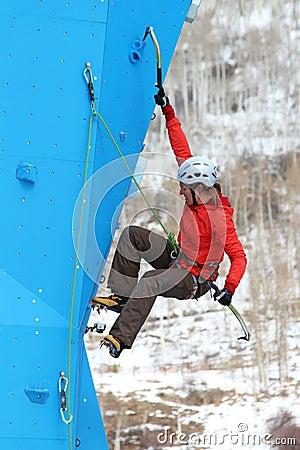 Eddie Bauer Mixed Climbing Editorial Photography