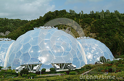 Eden Project Biomes 2 Editorial Image