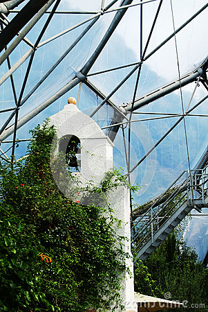 Eden Project mediterranean Biome Editorial Image
