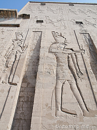 Free Edfu Temple, Egypt Royalty Free Stock Photo - 21055145