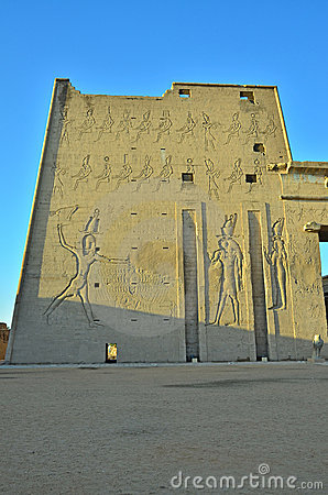 Free Edfu Temple, Egypt Stock Image - 21663521