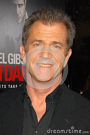 Mel Gibson,The Edge Editorial Stock Photo