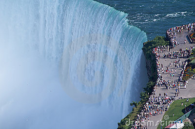 Edges of Niagara Fall