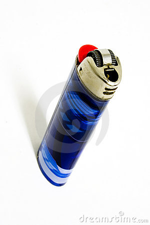 Free Edgy Blue Lighter Royalty Free Stock Photos - 48228
