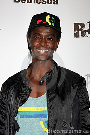 Edi Gathegi, Rage Editorial Stock Image