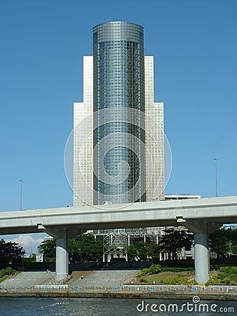 Edifício alto em Tokyo
